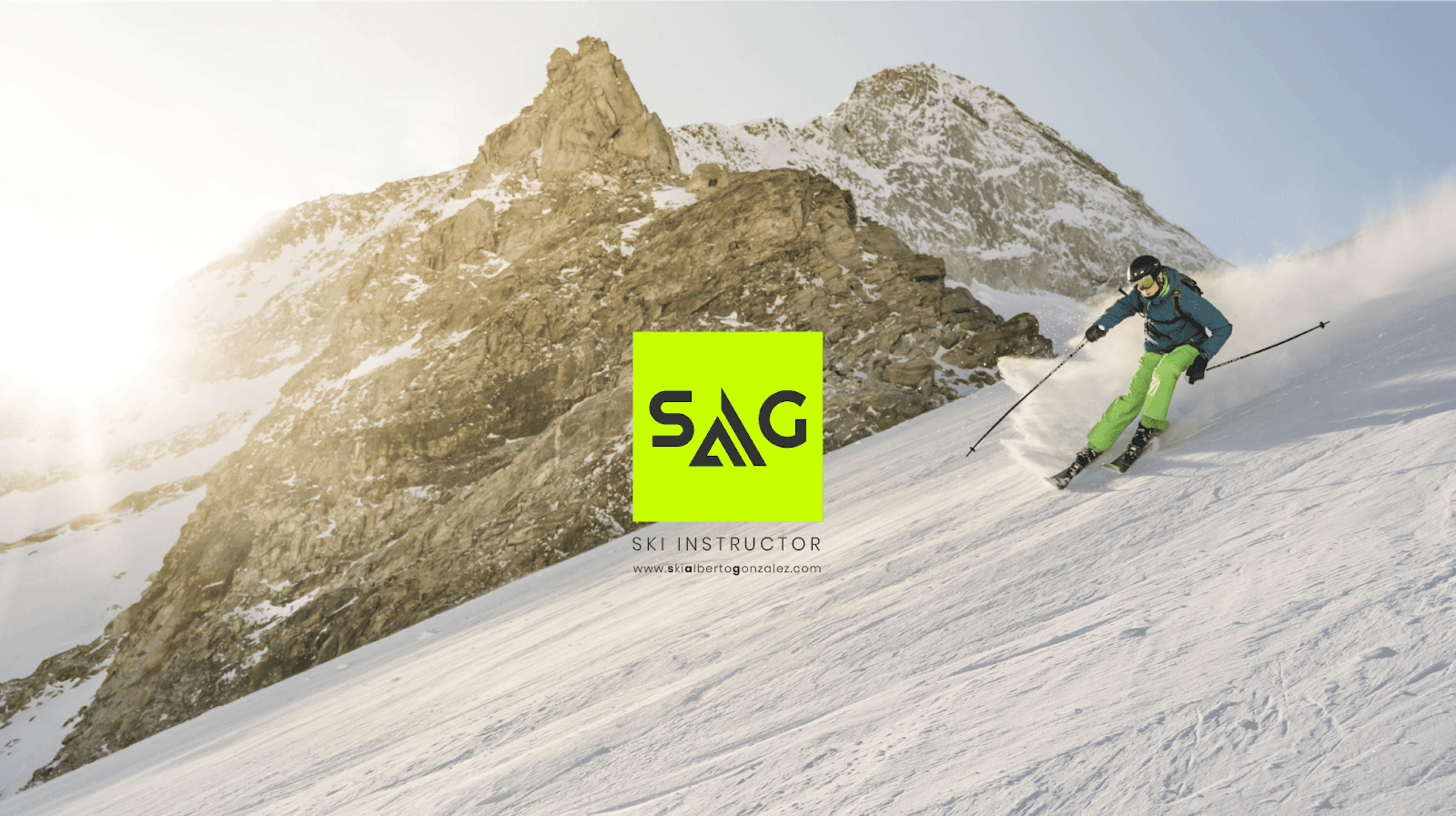 imagen esquiador SAG Closemarketing