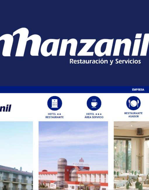 Diseño y Desarrollo Web Hoteles Manzanil