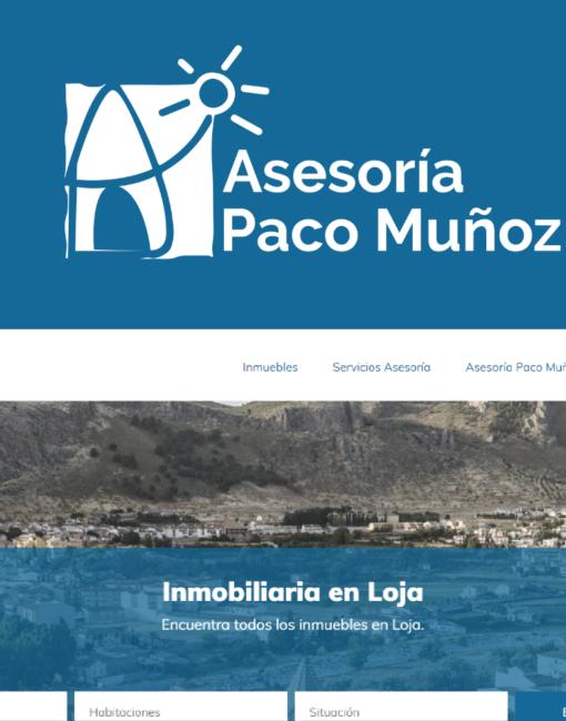 Portal de Inmuebles Asesoría Paco Muñoz