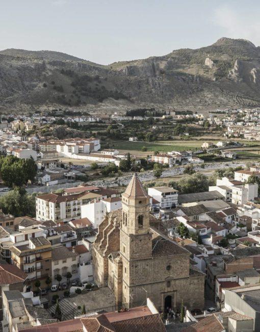 Vistas de Loja, en Granada