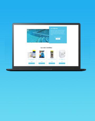 Diseño Tienda Online: Piscinas Andalucía