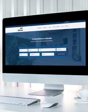 Diseño Web Dacisa Inmobiliaria