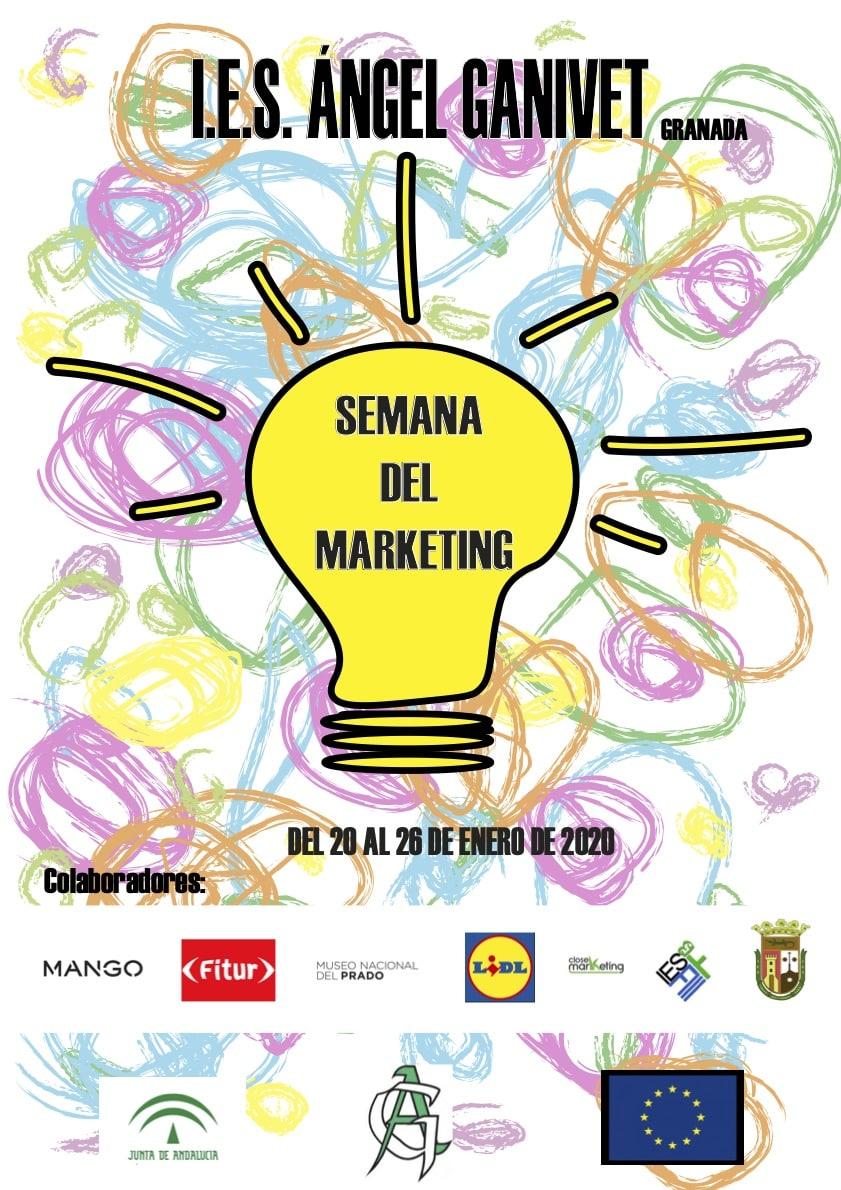 Cartel Semana Marketing Iesganivet 2
