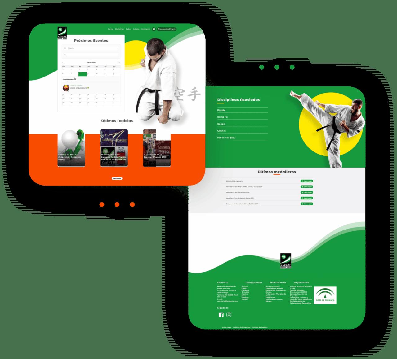 Diseño Web Karate 5