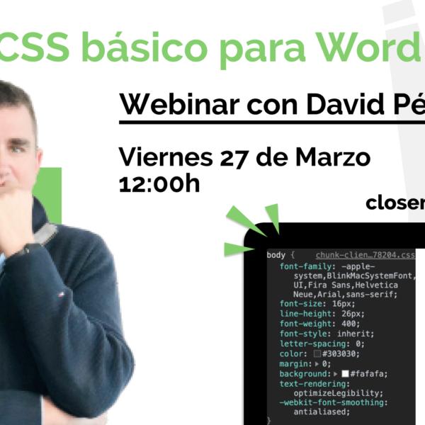 Webinar: CSS Básico para WordPress