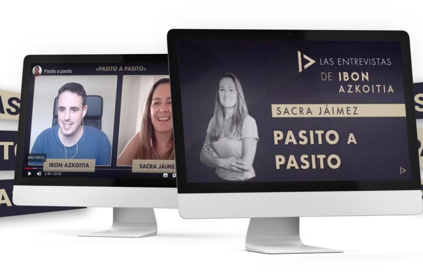 Entrevista a Sacra Jáimez con Ibon Azkoitia