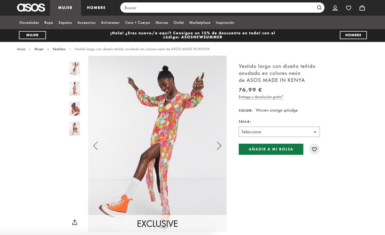 Ejemplo De Producto En Tienda Online Optimizado