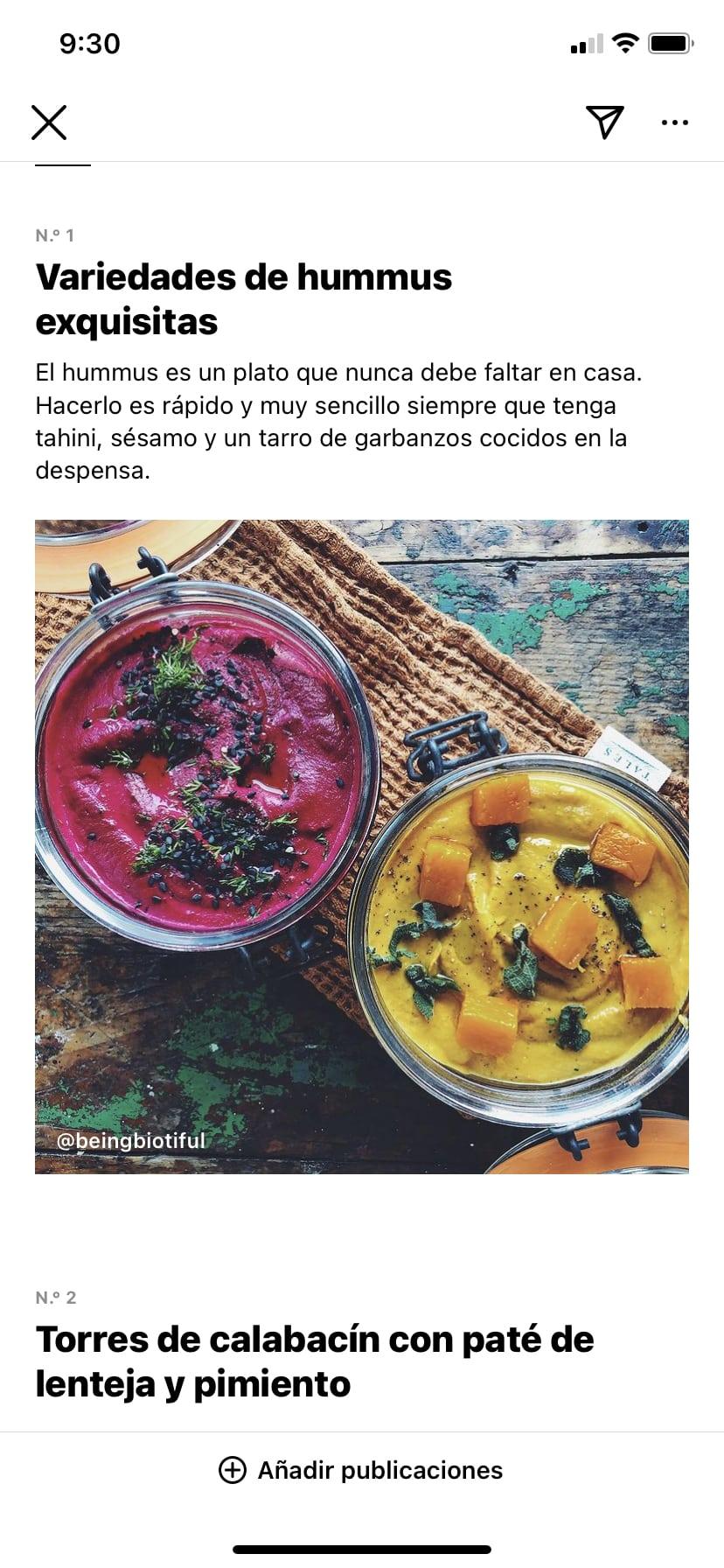 Vista De Una Publicacion De La Guia De Instagram