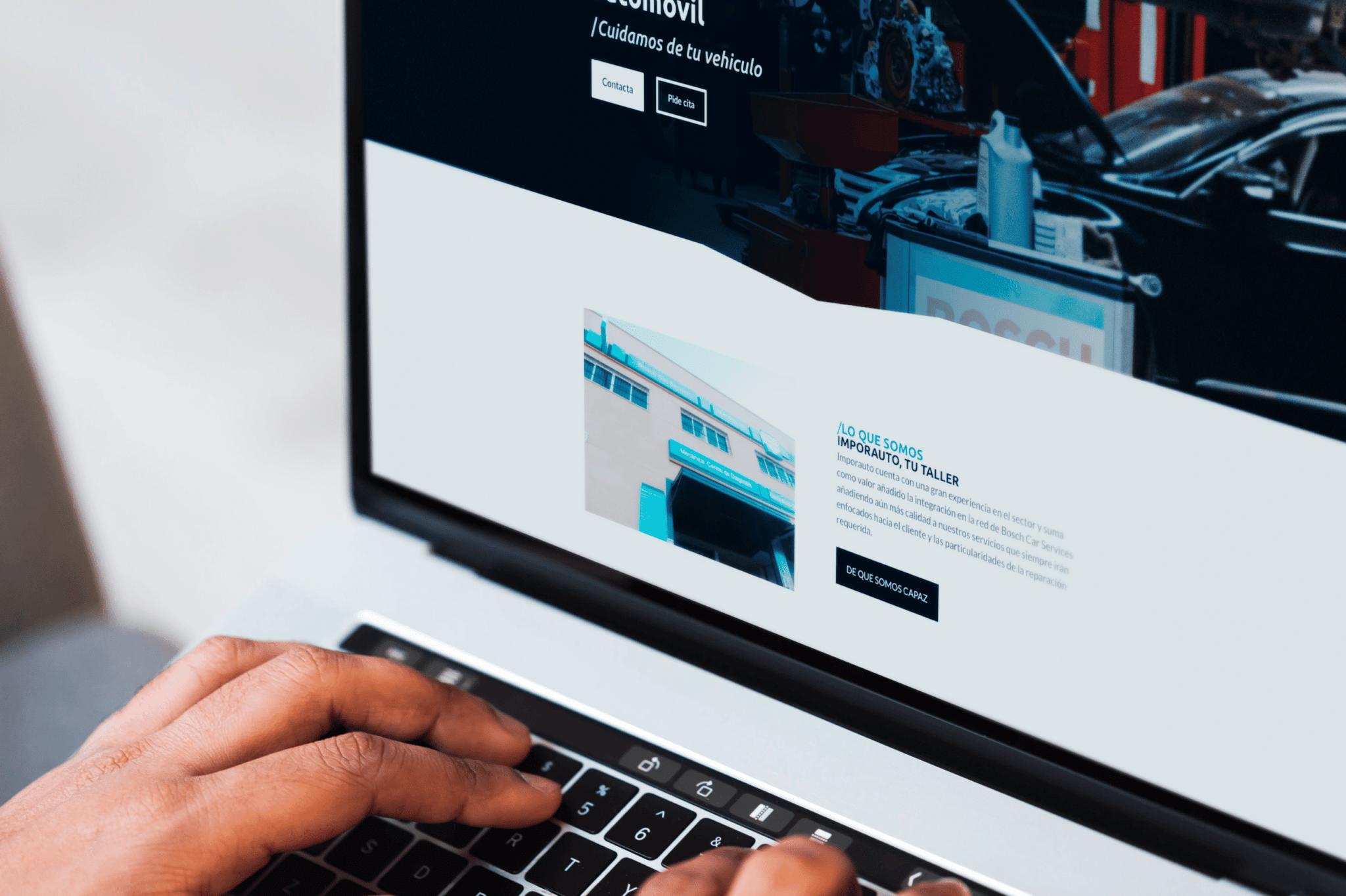 Diseño Página Web Imporauto