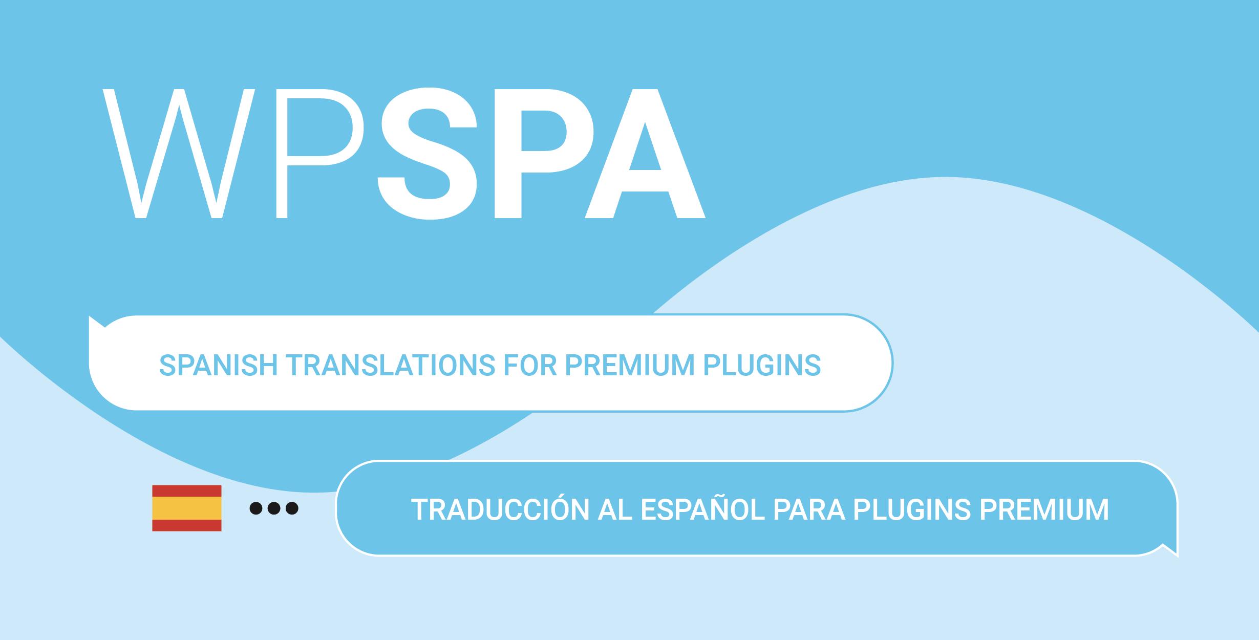 WPSPA Plugins premiums de WooCommerce traducidos al Español
